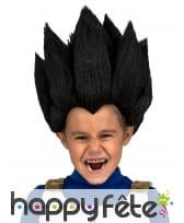 Perruque de Vegeta pour enfant