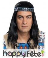 Perruque de Winnetou pour homme