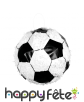 Pinata en forme de ballon de football, 30 x 30 cm