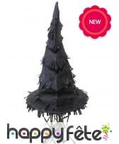Pinata en forme de chapeau de sorcière noir, image 1