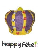 Pinata en forme de couronne de 34cm