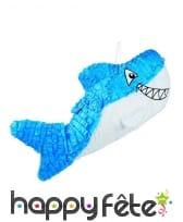 Pinata en forme de requin bleu, 60cm