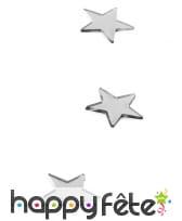Petites étoiles miroirs de 3cm de côté, image 1