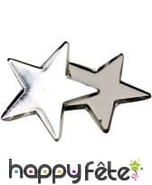 Petites étoiles miroirs de 3cm de côté, image 3