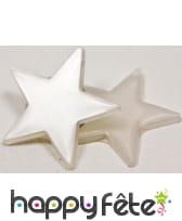 Petites étoiles miroirs de 3cm de côté, image 4