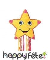 Pinata étoile sourire