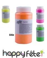 Poudre fluo décorative, 500g
