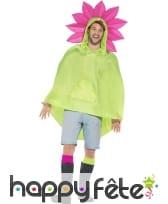 Poncho fleur imperméable, image 1