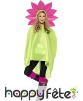 Poncho fleur imperméable