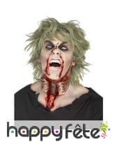 Plaie gorge de zombie