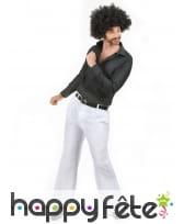 Pantalon homme blanc disco, image 1