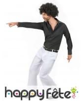 Pantalon homme blanc disco, image 2