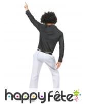 Pantalon homme blanc disco, image 3