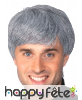 Perruque homme grisonnant