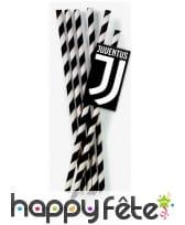 Pailles Juventus de 19,5cm, par 12, en carton, image 1