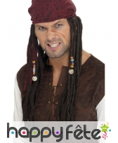 Perruque jack sparrow