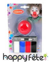 Petit kit de maquillage de clown