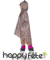 Poncho léopard imperméable, image 3