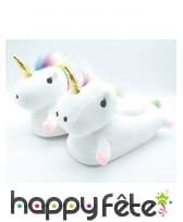 Pantoufle licornes pour enfant