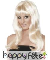 Perruque mystique blonde