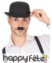 Petite moustache noire Charlie Chaplin