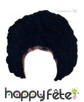 Perruque noire afro pour enfant