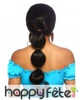 Perruque noire de princesse orientale pour adulte, image 1
