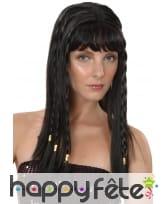 Perruque noire de reine Egyptienne, image 1