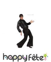 Pantalon noir extensible pour homme, image 1