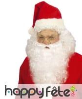 Perruque naturelle et barbe du Père Noël, image 1