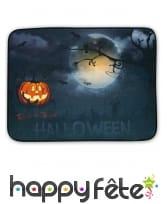 Paillasson nuit Halloween lumineux et sonore
