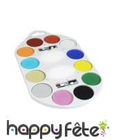 Palette peinture 12 couleurs, image 1