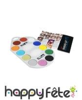 Palette peinture 12 couleurs, image 2