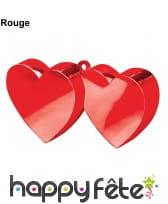 Poids pour ballon double coeurs, image 1