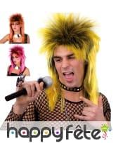 Perruque punk mulet
