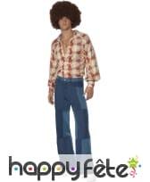 Pantalon patchwork pour homme