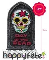 Petite pierre tombale jour des morts, 13cm, image 1