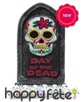 Petite pierre tombale jour des morts, 13cm