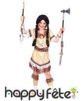 Petite robe à franges d'indienne pour enfant