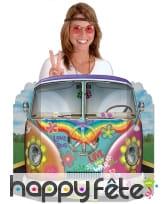 Passe-tête bus hippie