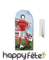 Passe-tête joueur de l'équipe d'Angleterre de foot