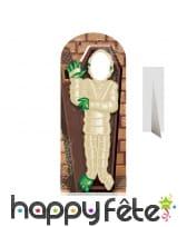 Passe-tête momie en cercueil