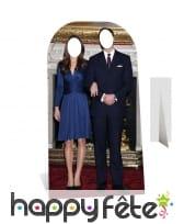 Passe-têtes princier de couple, William et Kate