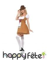 Petite tenue robe marron de Bavaroise, image 1