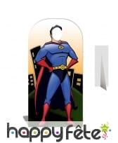 Passe-tête super-man version BD