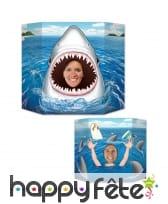 Passe tête sur le thème des requins