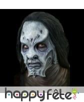 Prothèse visage alien en mousse
