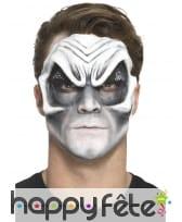 Prothèse visage de vampire en latex, image 3