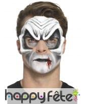 Prothèse visage de vampire en latex, image 4