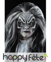 Prothèse visage de vampire en latex, image 5
